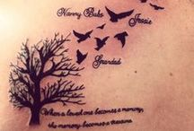 Tattoos. / Pictures of tattoos I love.