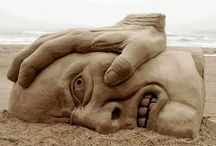 Sand sculptures / Just so cool / by Stephanie Read