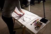 Amnesia Lab & Quo vadis: the last drawing show / Held at UNSW Galleries, 2014. Photos Alex Davies