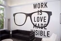 Creative Work Space / Some popular design inspiration for your office