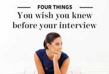 Interview Tips / Advice for nailing intimidating interviews