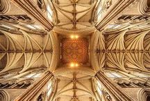 Cathedral/church ceilings / vaults / Profound heights
