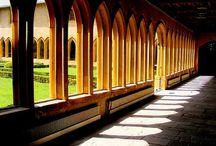 Cloisters and colonades