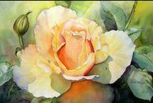 róże / róże w sztuce