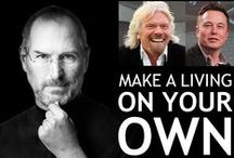 MAKE A LIVING ON YOUR OWN / Get inspired! Live Your Highest Life.