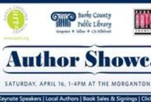 Author Showcase 2016 / Join us for a festival atmosphere on the front lawn, and keynote speakers inside on Saturday, April 16, 2016 at the Morganton Public Library!