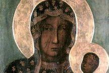 Ikony; wizerunki Matki Bożej