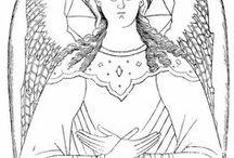 Ikony aniołowie; podlinniki