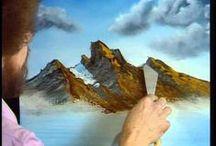 Bob Ross - malarstwo