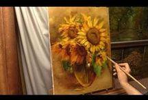 Filmy - różne techniki malowania