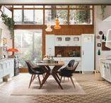 SAINT LOUIS - вперёд в прошлое / Выразительная нестандартная кухня Saint Louis от Marchi Cucine олицетворяет комфорт и эстетику, характерную для стиля 50-х годов прошлого столетия
