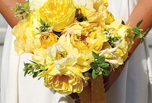 yellow flowers / by Kari Young Floral Designs