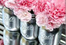 Mason jar recycling♡
