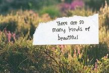 Pure Inspiration / Inspirational quotes about happiness, healthiness and things that make us smile.