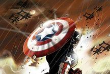 Captain America / by Nelson Scott