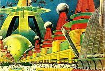 ART // Futurism / Steampunk, cyberpunk & everything in between!