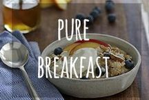 Pure Breakfast / A delicious, healthy way to start the day.