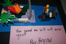 Lego Club / Many of our library locations have Lego Clubs. This board is dedicated to those creations which are exceptionally good or intriguing, which are a lively contrast to the week's challenge/theme, which have unique and inspirational titles, or which just make us smile. Enjoy!