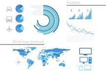 WORK // Infographics / Infographics and PowerPoint slide design examples