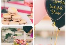 Party Ideas / Ideas for homemade or inexpensive decorations for parties