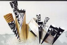 Black&White Sleeves | Conos B&N / Sleeves design in white and black, or combinate with another color. When elegance and simplicity says it all! Diseños de conos en blanco y negro, o combinados con algún color. ¡Cuando la elegancia y la sencillez lo dicen todo!