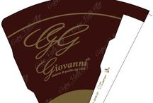 Xocolat Sleeves | Conos chocolate / Sleeves design inspired in the xocolat brown ice cream. To sweet the view!  Diseños de conos inspirados en el marrón del chocolate helado. ¡Para endulzar la vista!