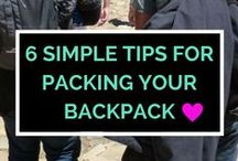 Before Departure / Planning and packing tips that is essential in having a successful and enjoyable travels.