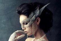 Masquerade Masks and Costumes / Beautiful Masquerade Venetian Masks, Gala Party Costumes, Ball Costumes, Cosplay, Halloween Costumes.