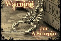 It's a Scorpio thing! / People always think a Scorpio is being mean when they are just being blunt. As a Scorpion we tend to keep our guard up.  / by Cynthia Ann