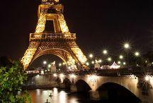 Paris in gold