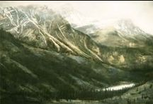 Landscape Artist Hilary Prince / Paints Landscapes from around the World