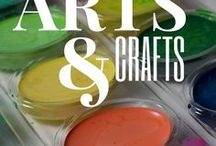 Arts & Crafts / Jam packed with loads of fun DIY and arts & crafts projects!