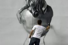 Grafitis, arte para tod@s / creaciones en la calle.
