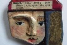 Papier Mache Marvels / The first art form I played with and still one of my favorites.