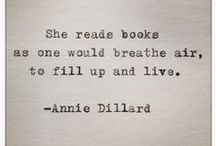 Books & Writing Quotes. :-) / Fun quotes about writing, reading and books.