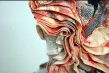 << MANIPULATED fabric / Surface manipulation and embellishment using fabric