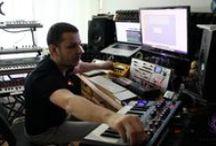 Studio view / Pictures from Alba Ecstasy's recording studio