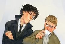 Sherlock / Deduction time! :3