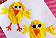Den Frühling mit Kindern gestalten / Inspirationen und kreative Ideen für Aktivitäten und Angebote für Kinder im Kindergartenalter.