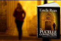 The Pucelle Connection / A few photos of the artwork and the hour books that appear in The Pucelle Connection. Enjoy!