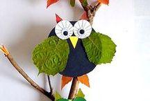 Bunte Herbsttage im Kindergarten / Kreative Ideen für die Gestaltung der bunten Herbsttage mit Kinder im Kindergarten!