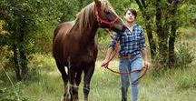 Katerina and Zeus / Katerina and her #horse Zeus