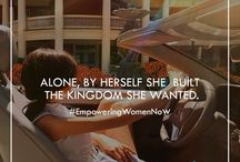 Independent woman = me!