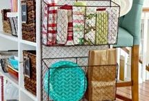 Organize, storage ideas and some how to make / by Mary Jordan