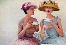 Let them eat cake and drink tea! / Tea time, the best time of day ... #cake #tea #english #british