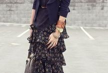 Skirt lady ----->