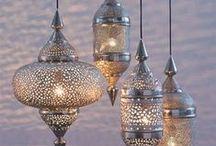 Lanterns and candles / Latarenki i świece