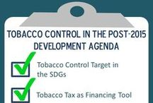 Tobacco control & development / Tobacco use contributes to poverty and is a major risk factor for the four main groups of non-communicable diseases (NCDs) - cancers, respiratory and cardiovascular diseases and diabetes. That's why tobacco control must be integrated into international development