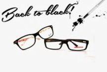 Back to Black Kollektion / Die schwarze Brille, ein Symbol für coole Extravaganz und Lässigkeit, erlebt in den letzten Jahren ein furioses Comeback! Unabhängig von Alter, Geschlecht und Weltanschauung vereint sie ihre Träger zu trendbewussten Brillenliebhabern, die ihre Vorliebe für auffällige Accessoires gern zeigen. Unsere Kollektion vereint die schönsten, auffälligsten und auch edelsten schwarzen Modelle aller Linien. Für alle, die selbstbewusst zeigen: Black is Back!