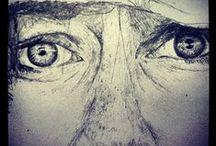 A lápis ou pincel